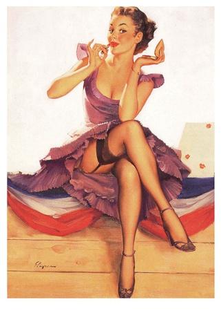 pinup-poster