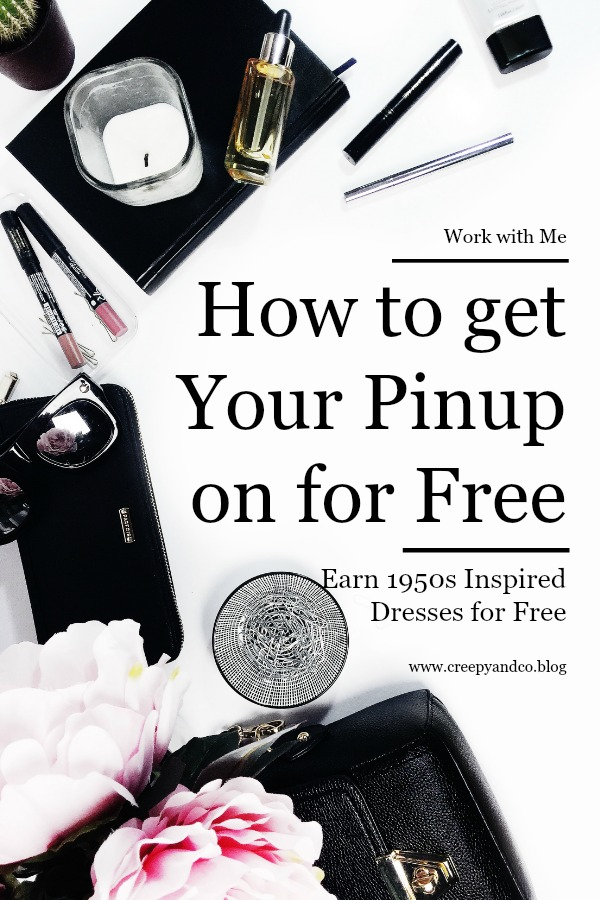 Earn Free 1950s Pinup Rockabilly Dresses and Accessories